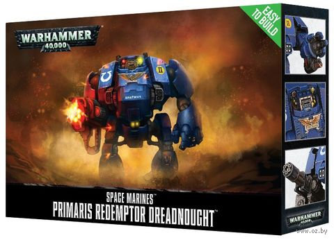 Warhammer 40.000. Space Marines. Primaris Redemptor Dreadnought. Easy to Build (48-87) — фото, картинка
