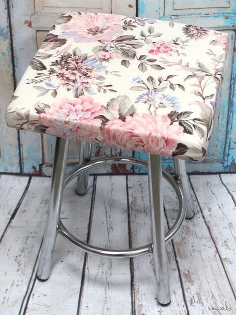 "Подушка на стул ""Cuadro Concept. Пионы"" (33х33 см) — фото, картинка"