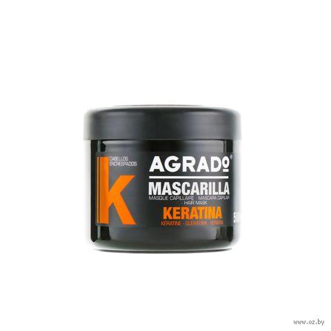 """Маска для волос """"Keratin"""" (500 мл) — фото, картинка"""