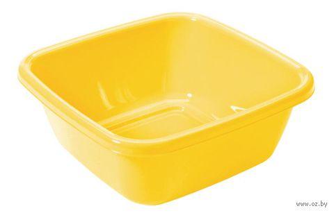 Миска пластмассовая квадратная (34*34 см, 6 л)