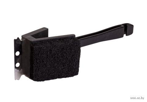 Щетка для чистки гриля металлическая с пластмассовой ручкой (26 см) — фото, картинка