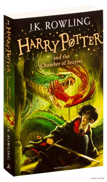 Harry Potter and the Chamber of Secrets (Children Cover) — фото, картинка