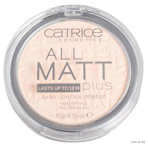 "Компактная пудра для лица ""All Matt Plus Shine Control"" (тон: 010)"