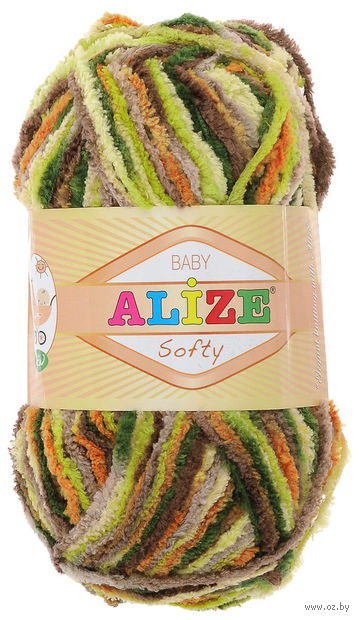 ALIZE. Softy №51299 (50 г; 115 м) — фото, картинка