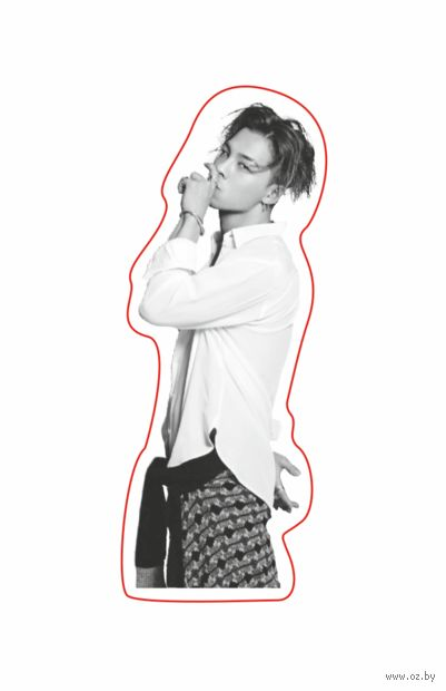"Наклейка ""Big Bang. Taeyang"" (арт. 11) — фото, картинка"