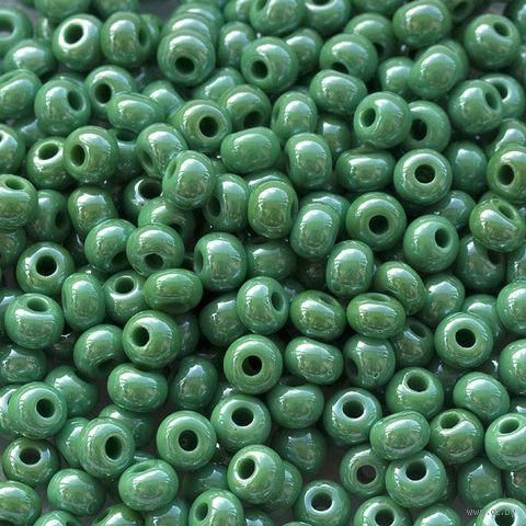 Бисер №58250C (зеленый; 10/0) — фото, картинка