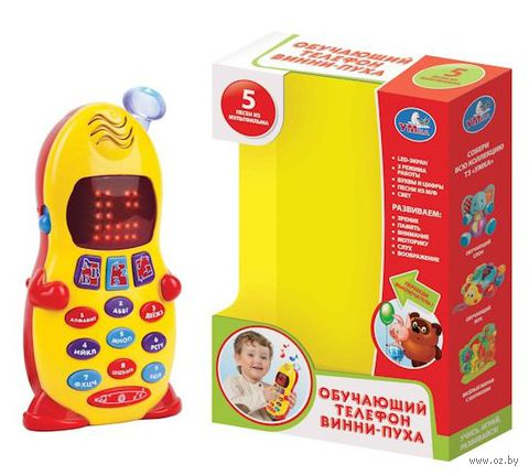 """Музыкальная игрушка """"Телефон Винни-Пуха"""" — фото, картинка"""