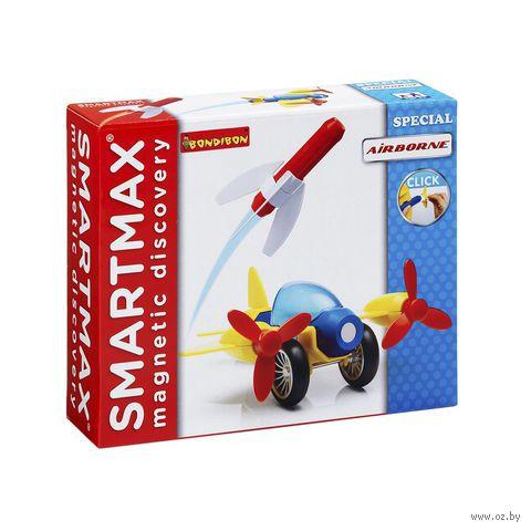 """Конструктор магнитный """"SmartMax. Полет"""" (9 деталей)"""