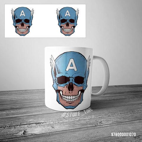 "Кружка ""Капитан Америка"" (арт. 1070) — фото, картинка"
