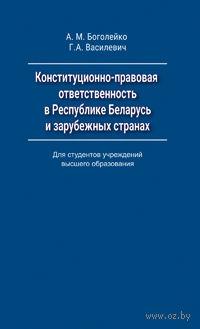 Конституционно-правовая ответственность в Республике Беларусь и зарубежных странах — фото, картинка