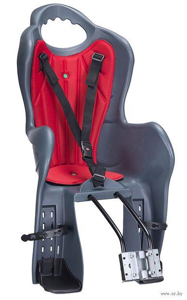 """Кресло велосипедное детское """"ELIBAS T"""" (тёмно-серое) — фото, картинка"""