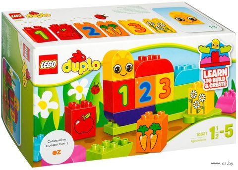 """LEGO Duplo """"Моя веселая гусеница"""""""
