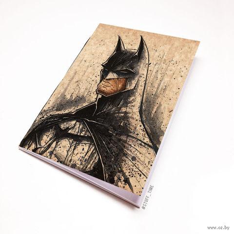 """Блокнот крафт """"Бэтмен"""" (А7; арт. 446) — фото, картинка"""