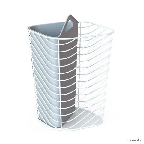 """Контейнер мусорный """"Couplet"""" (серый)"""
