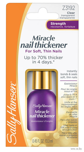 "Средство для укрепления ногтей ""Miracle nail thickener"" (13 мл) — фото, картинка"