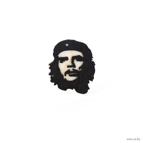 """Значок деревянный """"Че Гевара"""" — фото, картинка"""