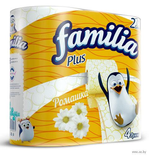 """Туалетная бумага """"Ромашка"""" (4 рулона) — фото, картинка"""