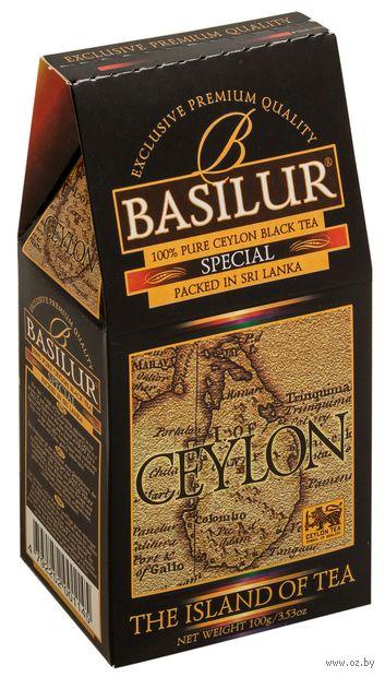 """Чай черный листовой """"Basilur. Special"""" (100 г) — фото, картинка"""
