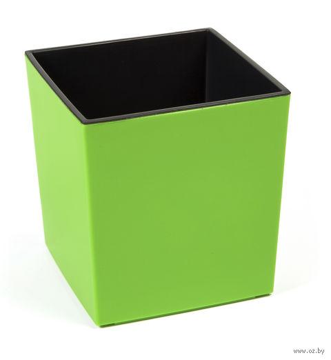 """Кашпо """"Juka"""" (25х25х25 см; зеленое) — фото, картинка"""