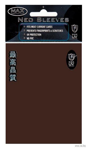 """Протекторы """"MaxPro"""" (66х93 мм; 50 шт.; шоколадные) — фото, картинка"""