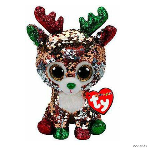 """Мягкая игрушка """"Олень Tegan"""" (15 см) — фото, картинка"""