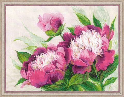 """Вышивка крестом """"Розовые пионы"""" (арт. 100/039)"""