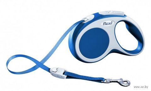 """Поводок-рулетка для собак """"Vario"""" (синий, размер M, до 25 кг/5 м, арт. 12072)"""