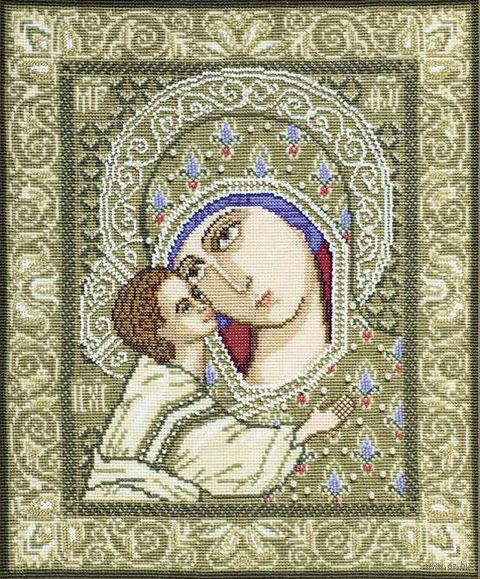 """Вышивка крестом """"Богоматерь Игоревская"""" (290х350 мм) — фото, картинка"""