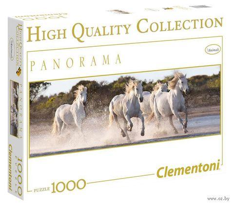 "Пазл ""Белые лошади"" (1000 элементов) — фото, картинка"