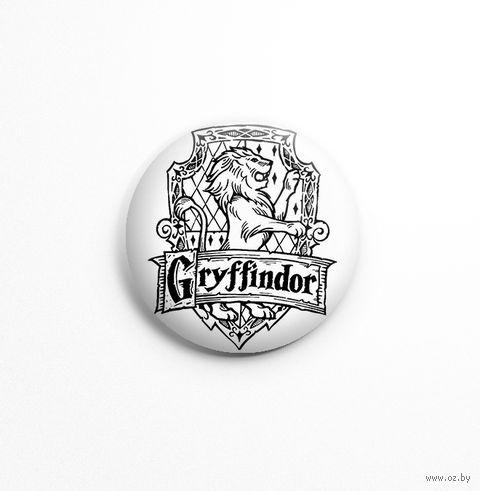 "Значок маленький ""Гарри Поттер. Гриффиндор"" (арт. 770) — фото, картинка"