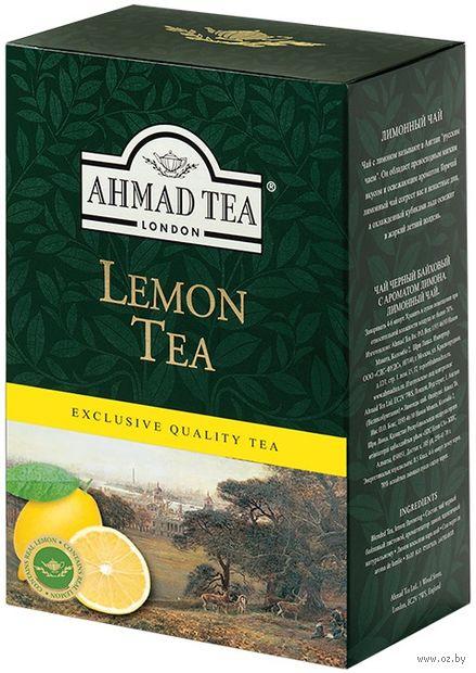 """Чай черный листовой """"Ahmad Tea. Лимонный"""" (100 г) — фото, картинка"""
