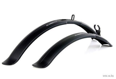 """Комплект щитков для велосипеда """"Classic Sde"""" (чёрный) — фото, картинка"""