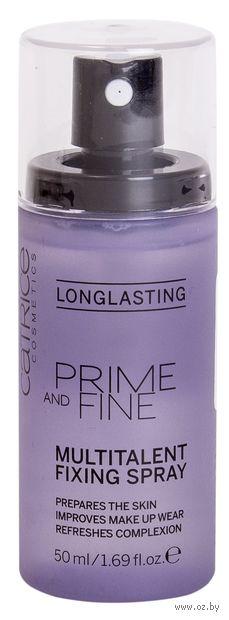 "Спрей для фиксации макияжа ""Prime And Fine. Multitalent Fixing Spray"" (50 мл) — фото, картинка"