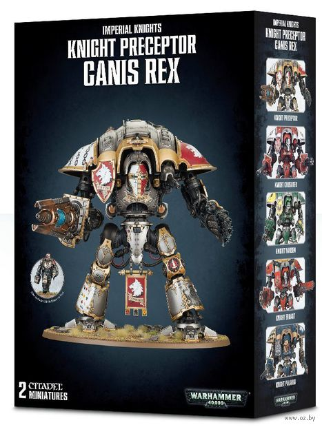 Warhammer 40.000. Imperial Knights. Knight Preceptor Canis Rex (54-15) — фото, картинка