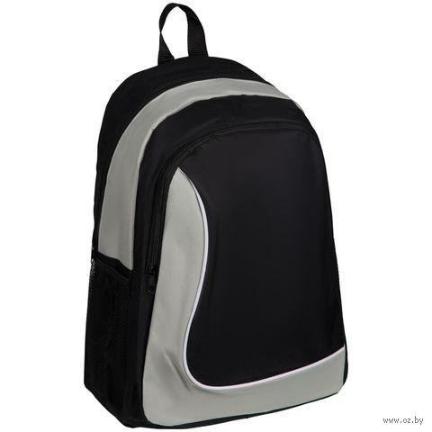 """Рюкзак """"Simple Line"""" (чёрный) — фото, картинка"""