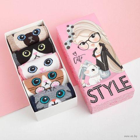 """Носки детские """"Style"""" (5 пар) — фото, картинка"""