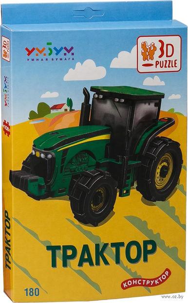 """Сборная модель из картона """"Трактор John Deere 8430"""""""