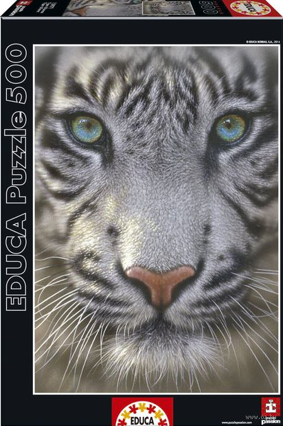 "Пазл ""Белый тигр"" (500 элементов)"