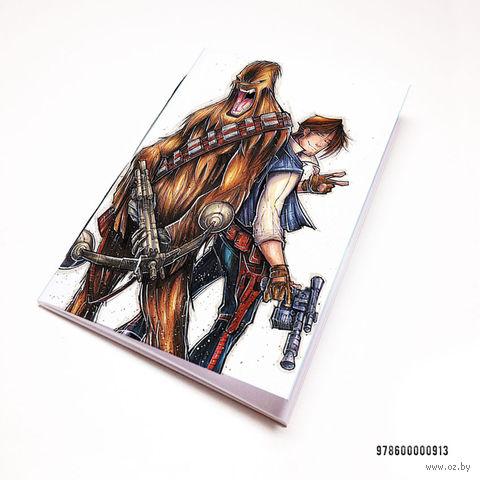 """Блокнот """"Звездные войны"""" (А7; арт. 913) — фото, картинка"""