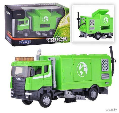 """Модель машины """"Scania мусоровоз"""" (масштаб: 1/48)"""