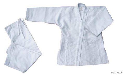 Кимоно для дзюдо AX7 (р.52-54/180; белое) — фото, картинка
