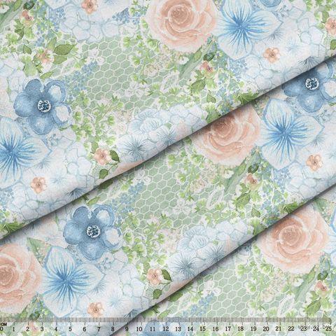 """Ткань """"Цветущие сады"""" №16 (48х50 см) — фото, картинка"""