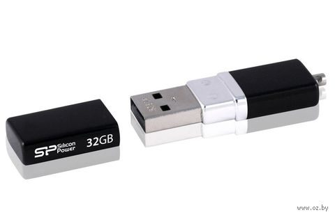 USB Flash Drive 32Gb Silicon Power Luxmini 710 (Black)