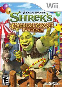 Shrek Carnival Craze Party Games (Wii)