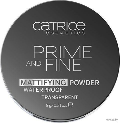 """Компактная пудра для лица водостойкая """"Prime And Fine Mattifying"""" (тон: 010)"""