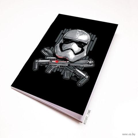 """Блокнот белый """"Звездные войны. Штурмовик"""" А5 (240)"""