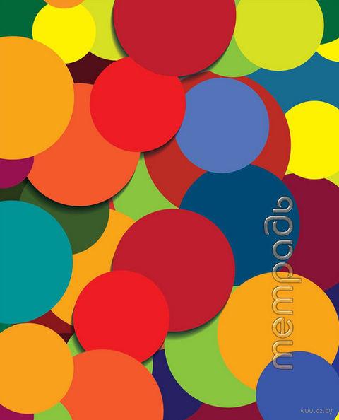 """Тетрадь в клетку """"Разноцветные шары"""" 48 листов"""