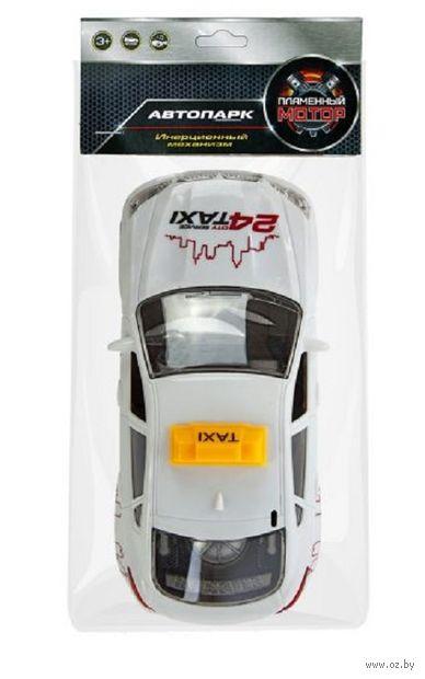 """Машинка инерционная """"Такси"""" (со световыми и звуковыми эффектами; арт. 87644) — фото, картинка"""