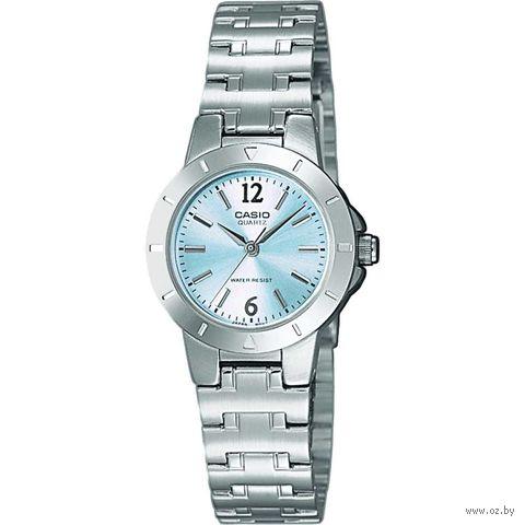 Часы наручные (серебристые; арт. LTP-1177PA-2A) — фото, картинка