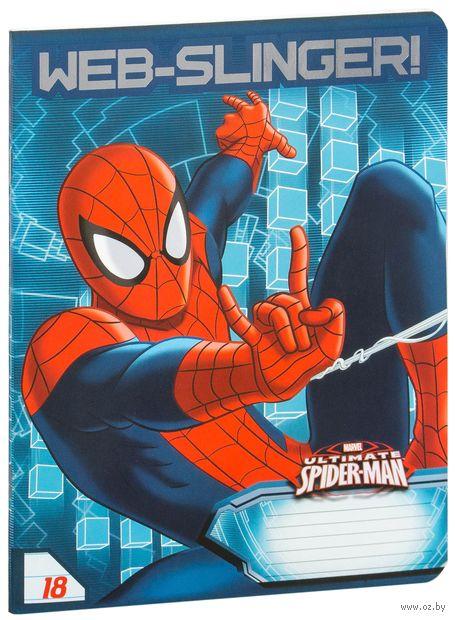 """Тетрадь в линейку """"Spider-man Classic"""" 18 листов"""